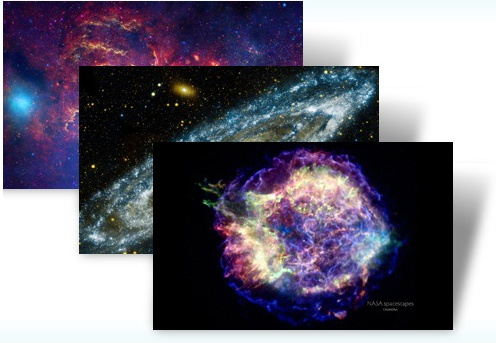 Windows 7 Space Themes | OC Astronomy | Desktop Themes